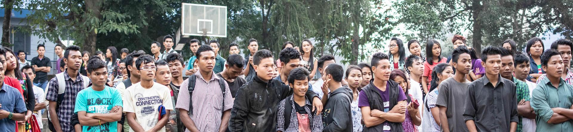 Students Gathering